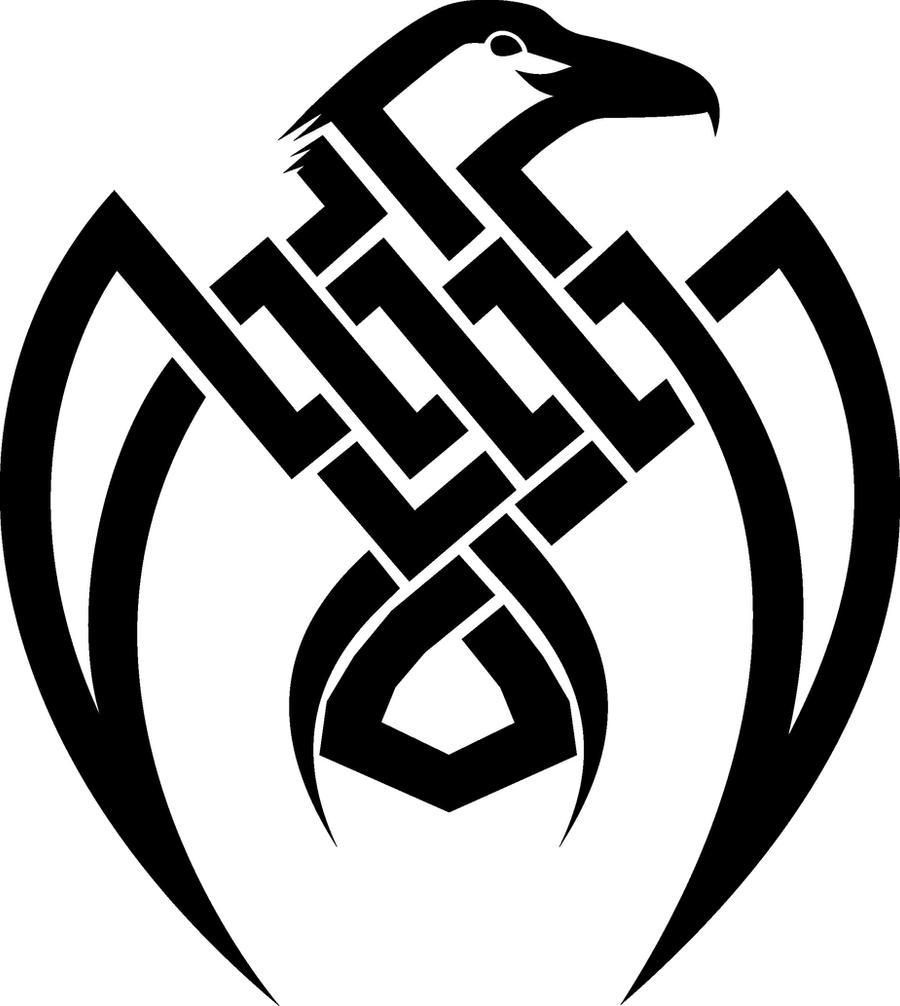 Tribal-Tattoos raven_tribal_tattoo_by_widacki-d47qeas