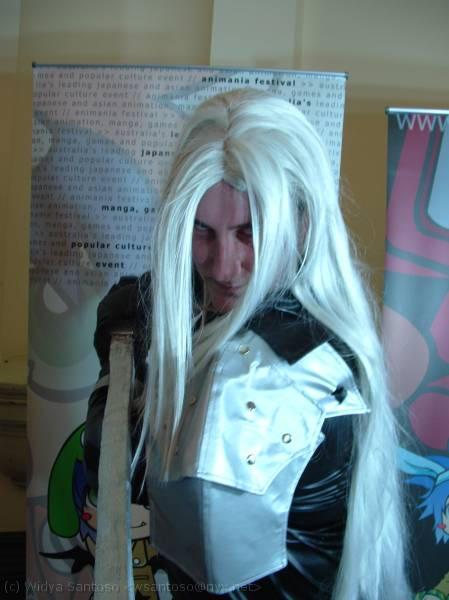 Sephiroth Cosplay Teaser by Trixen
