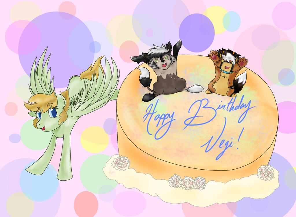 Birthday Splash by leayana