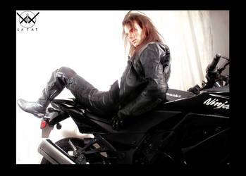 Nish and his Bike 3 by satat