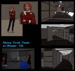 Nova Trek Test in Poser 10