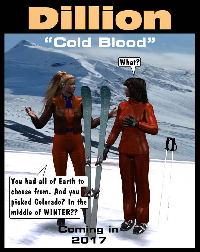 Dillion: Cold Blood -Advance Sheet 1 by mdbruffy