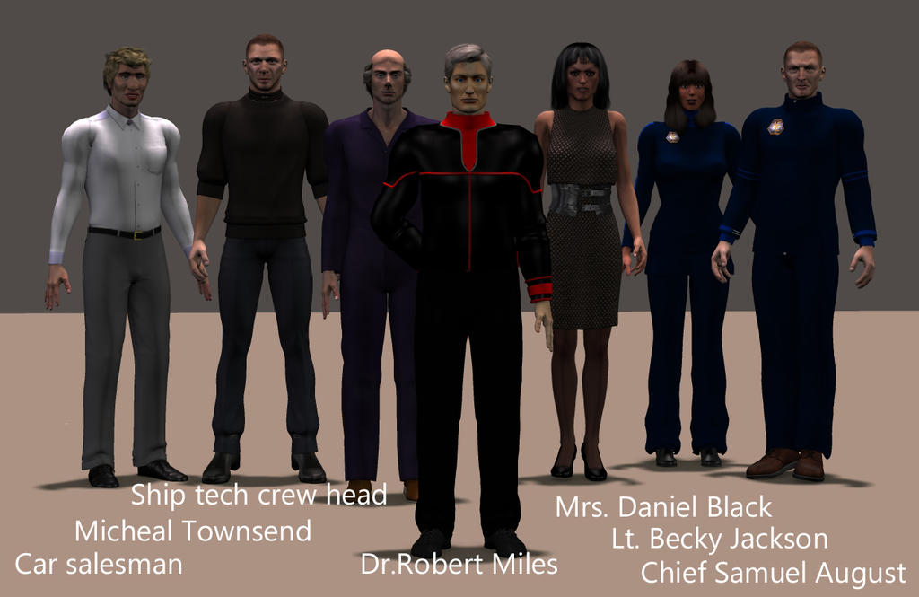 Main cast guests for Dillion: Cold Blood by mdbruffy
