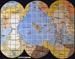 World Map- Dragoon