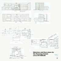 Sketches and plans for the  Kennings Estate by mdbruffy