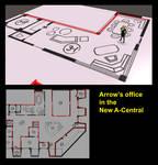 Arrow's new office 1