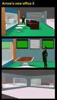 Arrow's new office 5