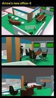 Arrow's new office 6