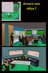 Arrow's new office 7