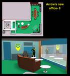 Arrow's new office- 8