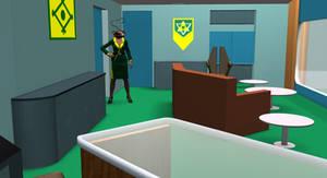 Arrow's new office- 9