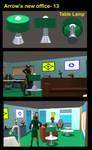 Arrow's new office 13