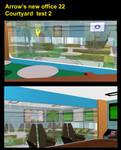 Arrow's new office 22