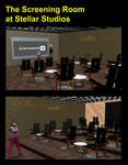 The Screening Room at Stellar Studios