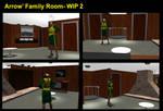 Arrow's Family Room- WIP 2