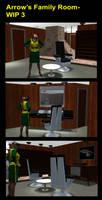 Arrow's Family Room- WIP 3