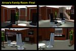 Arrow's Family Room- Final by mdbruffy