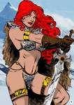 Red Sonja By Psychedelicheroin