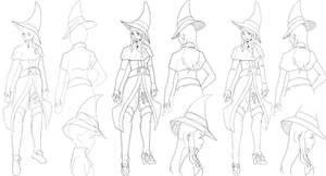 Character Design: Alchemist by JitenshaSW