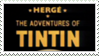 The Adventures of Tintin Stamp by Ivol-Robot