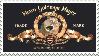 Metro Goldwyn Mayer Stamp by Ivol-Robot
