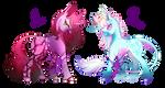 Pretty Pinto MLP Unicorn Adopts -CLOSED-