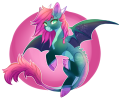 Dragon Pony RAFFLE (closed) by Cabbage-Arts