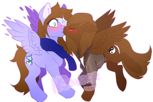 Surprise Kissy (COM) by Cabbage-Arts