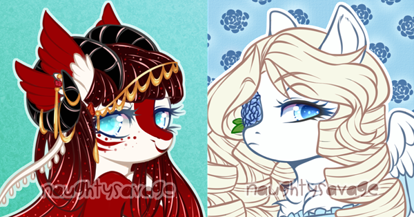 More Icons (WHAT) by Naughty-Savage