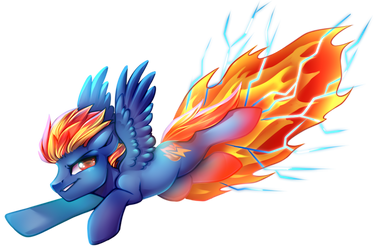 Flamebolt (COM) by Cabbage-Arts