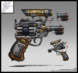 Pistol by OthmanIzagaren