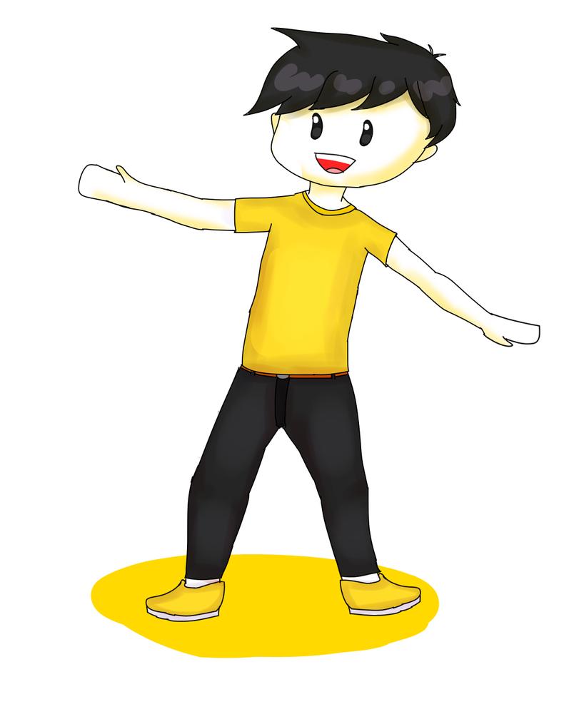 Yellow guy by Chozam