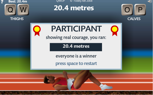 ...(look at pic) it might look easy, but you should try it before saying anything.http://www.foddy.net/Athletics.html.