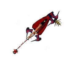 Outlaw Star Keyblade WIP