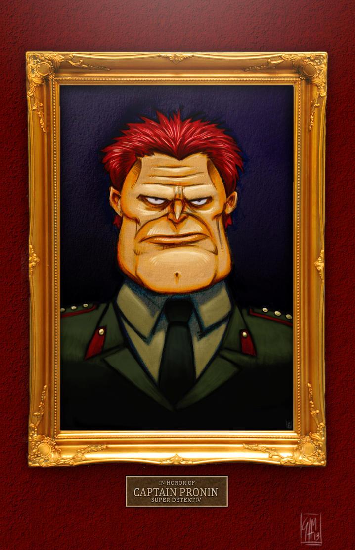Captain Pronin Portrait by ElOctopodo