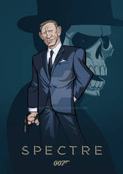 SPECTRE - James Bond Caricature
