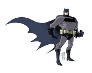Batman Sketch After FM