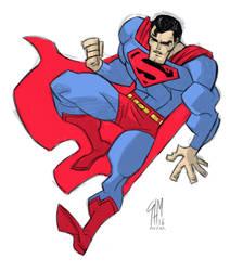 Superman Sketch after FM