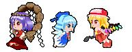 Touhou Desktop Pets (Flying ver.) by digitalromance77