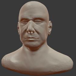 Flujo de Esculpido para personaje 03