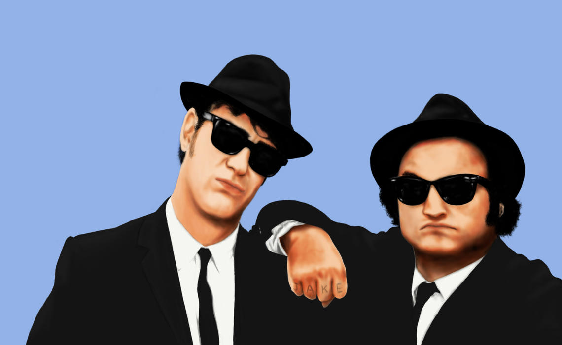 The Blues Brothers By Kazmon