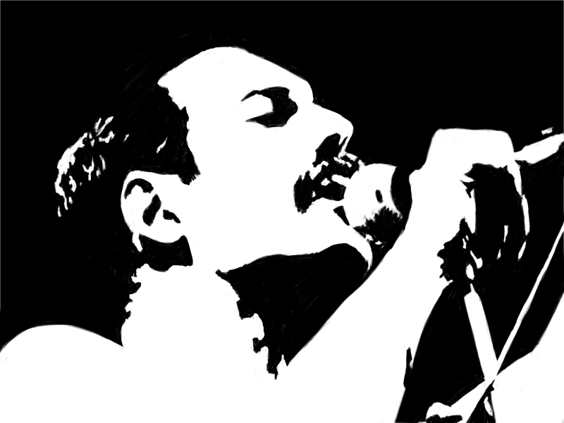 Freddie Mercury by Kazmon on DeviantArt