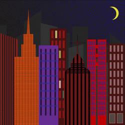 City Nightscape by Lashstar