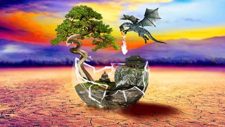 Dragon Sphere by Lashstar