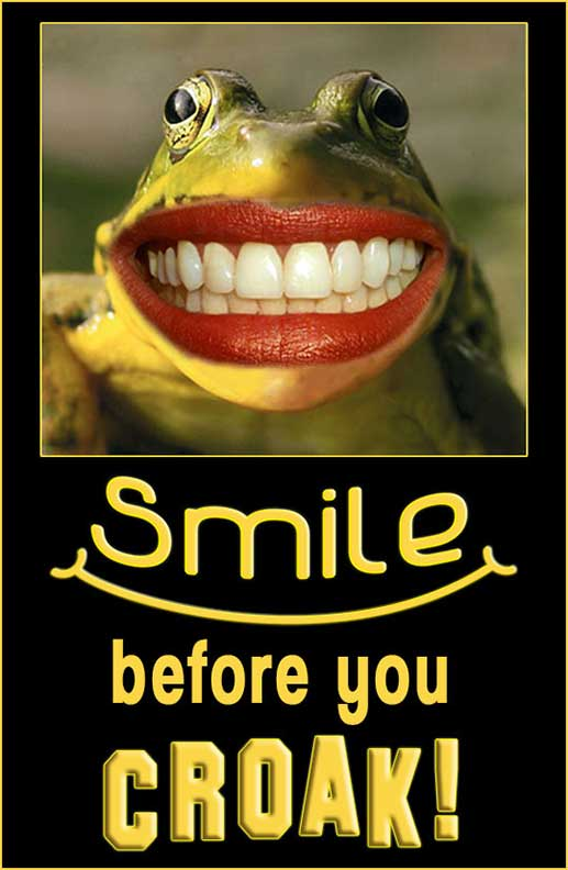 Smile B4 U Croak! by Lashstar