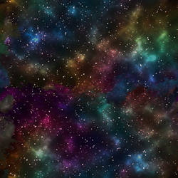 Gaseous Galaxy Background 4