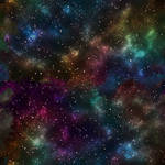 Gaseous Galaxy Background 4 by Lashstar