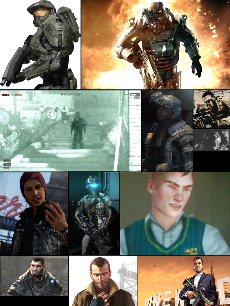 Favorite Video Game Characters Collage (Part 1) by ...
