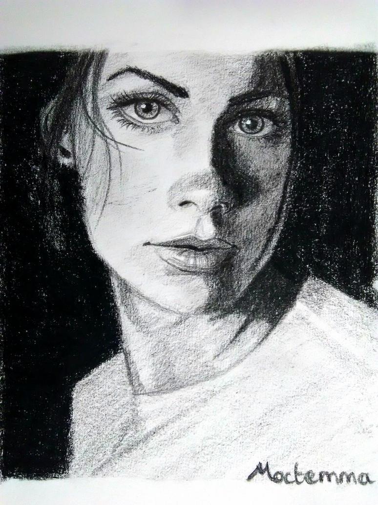 Portrait practice by Moctemma