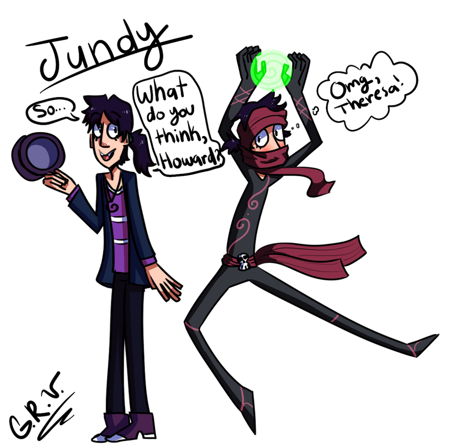Randy And Julian Fusion: Jundy by GirlyRainbowVampire